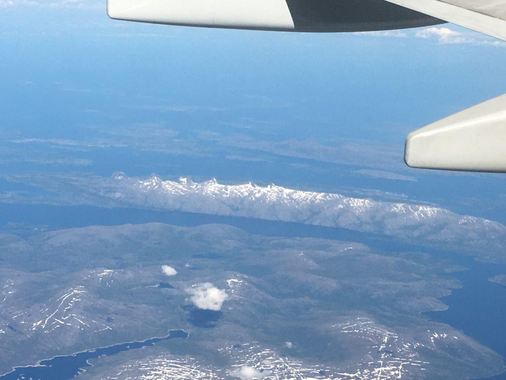 7 søstre ønsker TOSKene velkommen til Nord Norge